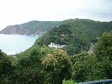 Overlooking Lynton, North Devon..Click to see larger..